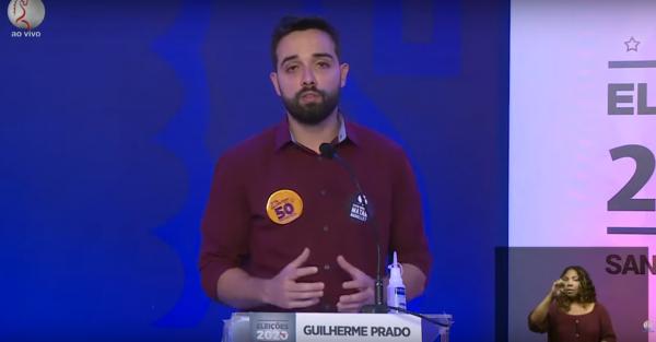 [As 10 melhores frases de Guilherme Prado no debate da Santa Cecília TV]